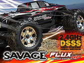 Запчасти для RTR SAVAGE FLUX HP 2.4GHz DSSS