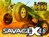 Запчасти для RTR SAVAGE X 4.6 2.4GHz DSSS